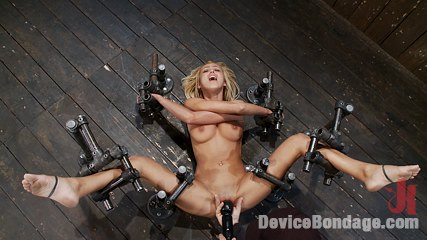 Breanne benson br let s finger have sexual intercourse the pretty girl to hell and back. Skinny hot blond with big tits, bound in cruel metal and made to squirt!!!
