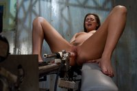 Tori Black machine fucked by robot fast 7 inch dildo pounding her tight pussy. Her multiple orgasms drip sweet pussy juice.