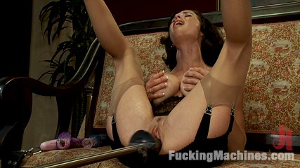 Veronica avluv br squirting milf part 1 of 5. Hot Squirting MILF machine make love until multiple jet stream orgasms soak the bed, the dongs and floor. Damp, juicy orgasms from her unstoppable vagina