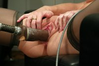 Jade Marxxx fucks The Reactor machine.  Cum see what happens!
