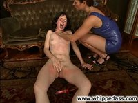 Mary Jane is a little primadonna, gets good punishment from Kym