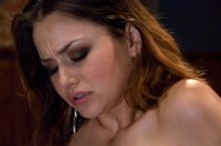 Allie Haze - dirty girl next door ass fucked and pussy rammed by a custom fucking machine.