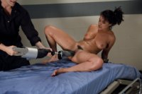Charley Chase is the wild filly of porn - she squirts, squirms, fucks cock bigger than her forearm and sends herself into cum space from the Sybian.