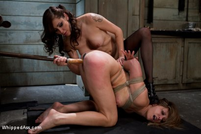 Maitresse-Madeline-PUNISHED-and-FUCKED-and-hazed-in-as-director-of-Whipped-Ass-by-Princess-Donna