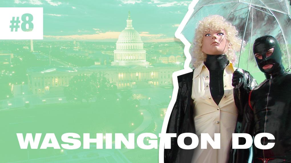 8th Kinkiest City - Washington DC