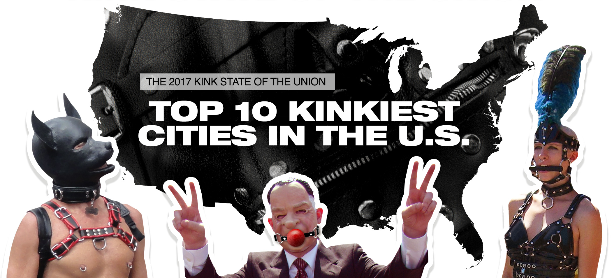 Most Kinky Cities