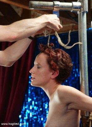 Photo number 1 from Nina shot for Hogtied on Kink.com. Featuring Nina in hardcore BDSM & Fetish porn.