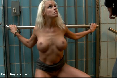 Photo number 9 from BEST OF EUROPE: Beautiful German Milf Bound and Fucked in Public shot for Public Disgrace on Kink.com. Featuring Steve Holmes and Sophie Logan in hardcore BDSM & Fetish porn.