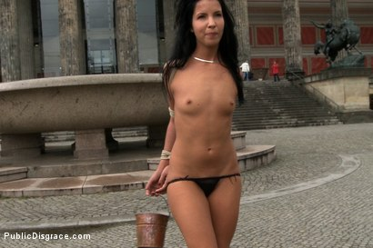 Photo number 4 from Euro Babe Disgraced in the Streets shot for Public Disgrace on Kink.com. Featuring Zenza Raggi and Tina Martinez in hardcore BDSM & Fetish porn.