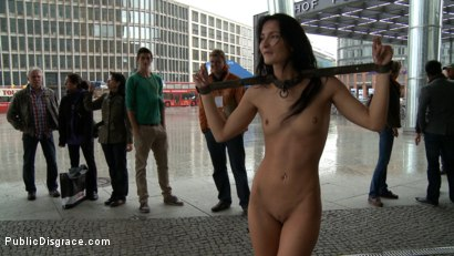 Photo number 8 from BEST OF EUROPE: Super Hot Euro Babe Disgraced in the Streets shot for Public Disgrace on Kink.com. Featuring Zenza Raggi and Bailey in hardcore BDSM & Fetish porn.