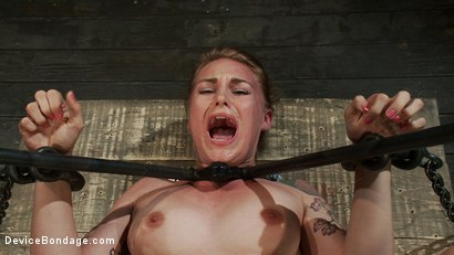 Photo number 11 from Excruciating Pleasure shot for Device Bondage on Kink.com. Featuring Payton Bell in hardcore BDSM & Fetish porn.
