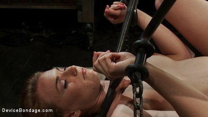 Photo number 3 from Excruciating Pleasure shot for Device Bondage on Kink.com. Featuring Payton Bell in hardcore BDSM & Fetish porn.