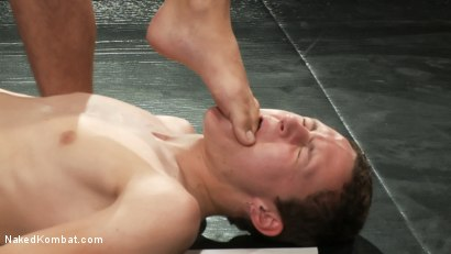 Photo number 12 from Jake Austin vs Trevor Laster shot for Naked Kombat on Kink.com. Featuring Jake Austin and Trevor Laster in hardcore BDSM & Fetish porn.