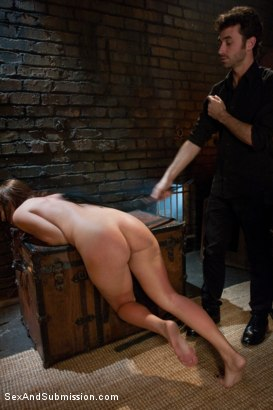 Photo number 8 from Asking Permission shot for Sex And Submission on Kink.com. Featuring James Deen and Ashli  Orion in hardcore BDSM & Fetish porn.