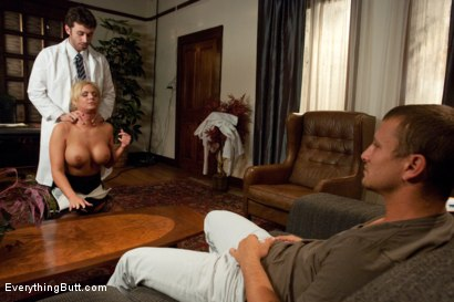 Photo number 8 from Abuse of Power shot for Everything Butt on Kink.com. Featuring James Deen, Mr. Pete and Phoenix Marie in hardcore BDSM & Fetish porn.