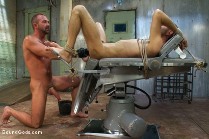 Photo number 12 from The Ass Master shot for Bound Gods on Kink.com. Featuring Josh West, Kyler Rogue and The GIMP in hardcore BDSM & Fetish porn.