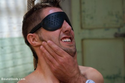 Photo number 5 from The Ass Master shot for Bound Gods on Kink.com. Featuring Josh West, Kyler Rogue and The GIMP in hardcore BDSM & Fetish porn.