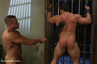 Photo number 12 from Don't Ask Don't Tell shot for Bound Gods on Kink.com. Featuring Vince Ferelli and Tyler Saint in hardcore BDSM & Fetish porn.