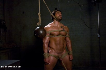 Photo number 11 from Don't Ask Don't Tell shot for Bound Gods on Kink.com. Featuring Vince Ferelli and Tyler Saint in hardcore BDSM & Fetish porn.