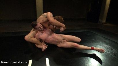 Photo number 9 from Jake Austin vs Troy Daniels shot for nakedkombat on Kink.com. Featuring Troy Daniels and Jake Austin in hardcore BDSM & Fetish porn.