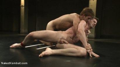 Photo number 5 from Jake Austin vs Troy Daniels shot for nakedkombat on Kink.com. Featuring Troy Daniels and Jake Austin in hardcore BDSM & Fetish porn.