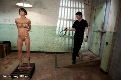 Photo number 1 from The Training of Gia DiMarco, Day Two shot for The Training Of O on Kink.com. Featuring Gia DiMarco and Maestro in hardcore BDSM & Fetish porn.