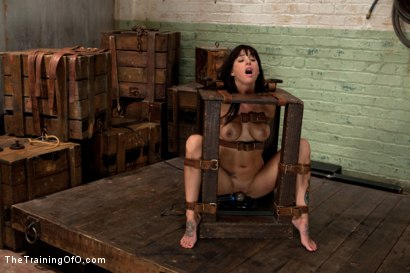 Photo number 5 from The Training of Gia DiMarco, Day Two shot for The Training Of O on Kink.com. Featuring Gia DiMarco and Maestro in hardcore BDSM & Fetish porn.