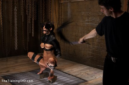 Photo number 8 from The Training of Gia DiMarco, Day Three shot for The Training Of O on Kink.com. Featuring Gia DiMarco and Maestro in hardcore BDSM & Fetish porn.