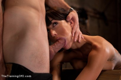 Photo number 6 from Tha Training of Gia DiMarco, Day Four shot for The Training Of O on Kink.com. Featuring Gia DiMarco and Maestro in hardcore BDSM & Fetish porn.