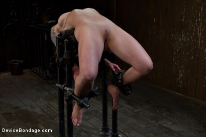 Photo number 1 from Your Girl Can't Do This shot for Device Bondage on Kink.com. Featuring Vivienne Del Rio in hardcore BDSM & Fetish porn.