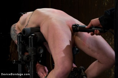 Photo number 9 from Your Girl Can't Do This shot for Device Bondage on Kink.com. Featuring Vivienne Del Rio in hardcore BDSM & Fetish porn.