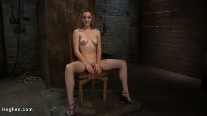 Photo number 15 from Is that the hot blond from   Gossip Girl? shot for Hogtied on Kink.com. Featuring Lily LaBeau in hardcore BDSM & Fetish porn.