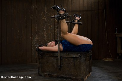 Photo number 1 from Porn's Youngest Legend Gets Machine Fucked in the Ass shot for Device Bondage on Kink.com. Featuring Aurora Snow in hardcore BDSM & Fetish porn.