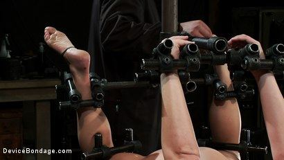 Photo number 5 from Humility Is a Virtue shot for Device Bondage on Kink.com. Featuring Aurora Snow in hardcore BDSM & Fetish porn.