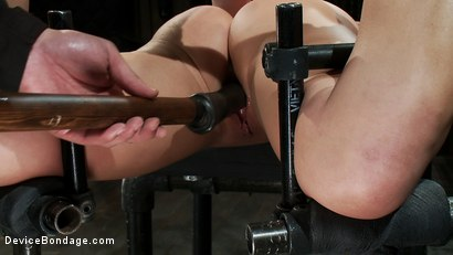 Photo number 9 from Humility Is a Virtue shot for Device Bondage on Kink.com. Featuring Aurora Snow in hardcore BDSM & Fetish porn.