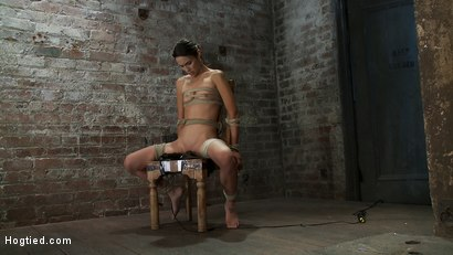 Photo number 1 from Never stopping   ORGASMS shot for Hogtied on Kink.com. Featuring Amber Rayne in hardcore BDSM & Fetish porn.