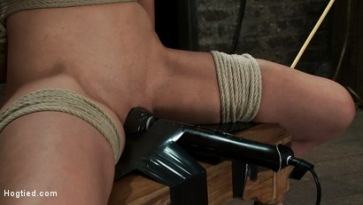 Photo number 4 from Never stopping<BR>ORGASMS shot for Hogtied on Kink.com. Featuring Amber Rayne in hardcore BDSM & Fetish porn.