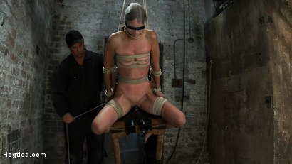 Photo number 9 from Never stopping<BR>ORGASMS shot for Hogtied on Kink.com. Featuring Amber Rayne in hardcore BDSM & Fetish porn.