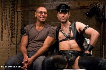 Photo number 15 from Master Avery shot for Bound Gods on Kink.com. Featuring Master Avery and Leo Forte in hardcore BDSM & Fetish porn.