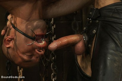 Photo number 5 from Master Avery shot for Bound Gods on Kink.com. Featuring Master Avery and Leo Forte in hardcore BDSM & Fetish porn.