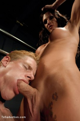 Photo number 6 from Fantasy Stealing shot for tsseduction on Kink.com. Featuring Morgan Bailey and Vennue Longhorn in hardcore BDSM & Fetish porn.