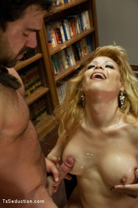 Photo number 15 from Meet the Teacher and Her Giant Cock shot for TS Seduction on Kink.com. Featuring Johanna B and Vince Ferelli in hardcore BDSM & Fetish porn.