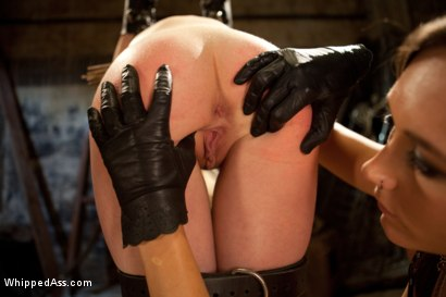 Photo number 3 from Gorgeous 19 Year Old Punished and Fist Fucked by Sinn Sage shot for Whipped Ass on Kink.com. Featuring Lily LaBeau and Sinn Sage in hardcore BDSM & Fetish porn.