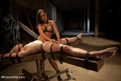 Photo number 5 from Gorgeous 19 Year Old Punished and Fist Fucked by Sinn Sage shot for Whipped Ass on Kink.com. Featuring Lily LaBeau and Sinn Sage in hardcore BDSM & Fetish porn.