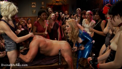 Maitresse Madeline and Aiden Starr's Divine B-day Bash LIVE and PUBLIC!