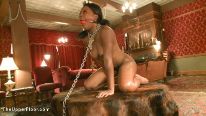 Photo number 9 from Fresh Meat Coffee Brown shot for The Upper Floor on Kink.com. Featuring Coffee Brown in hardcore BDSM & Fetish porn.