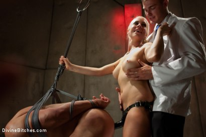 Photo number 3 from A Cuckold's Reality shot for Divine Bitches on Kink.com. Featuring Vince Ferelli, Lorelei Lee and Christian Wilde in hardcore BDSM & Fetish porn.