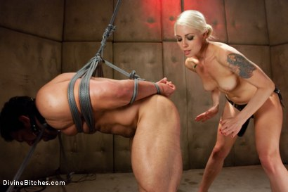 Photo number 9 from A Cuckold's Reality shot for Divine Bitches on Kink.com. Featuring Vince Ferelli, Lorelei Lee and Christian Wilde in hardcore BDSM & Fetish porn.
