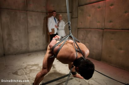 Photo number 13 from A Cuckold's Reality shot for Divine Bitches on Kink.com. Featuring Vince Ferelli, Lorelei Lee and Christian Wilde in hardcore BDSM & Fetish porn.