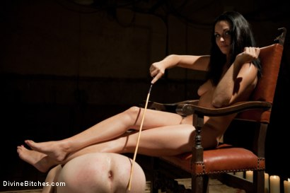 Photo number 5 from Real Life BDSM couple shot for Divine Bitches on Kink.com. Featuring Nomad and Ms Kim in hardcore BDSM & Fetish porn.